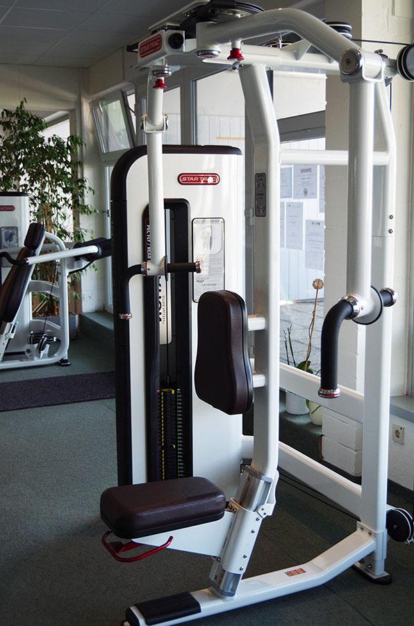 Top Fitnessstudio im Schuh Reschke Gebäude in Untergriesbach